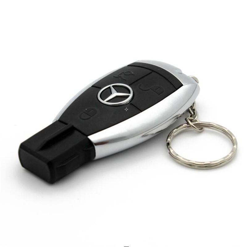 Pen USB de 16, 32 e 64GB em Chave Automóvel Mercedes - Goeik