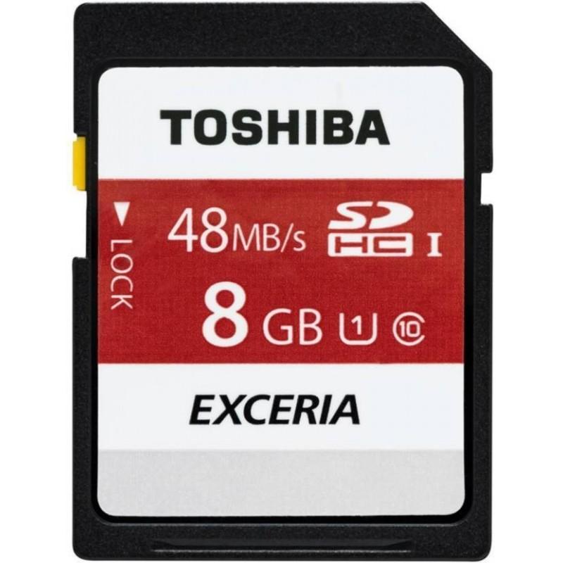 Cartão SD 8GB - Toshiba