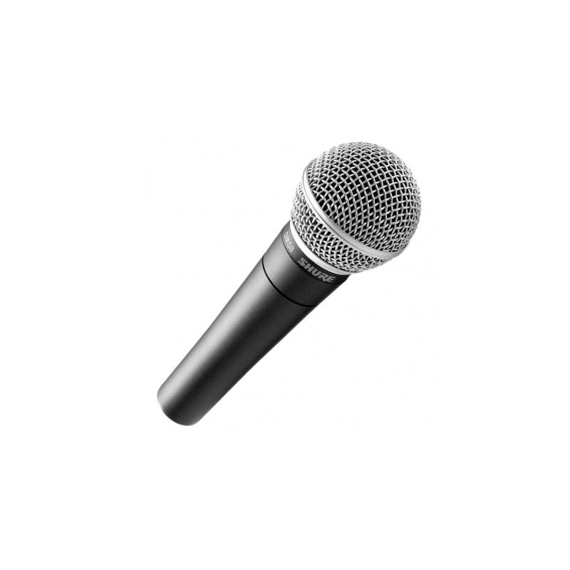 Microfone de Voz Shure SM58LC - Linha Profissional