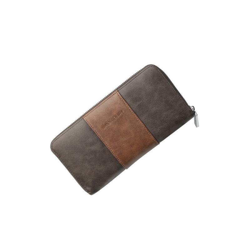 Carteira Baellerry  - 36 Cartões - dark brown