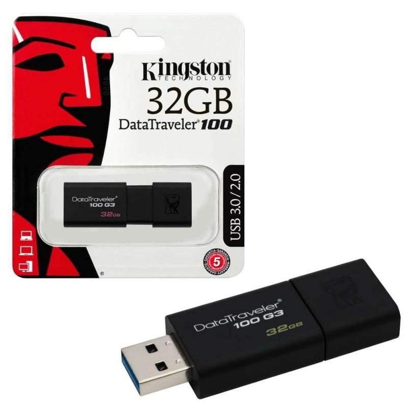 Pen Kingston Drive 32GB Data Traveler 100