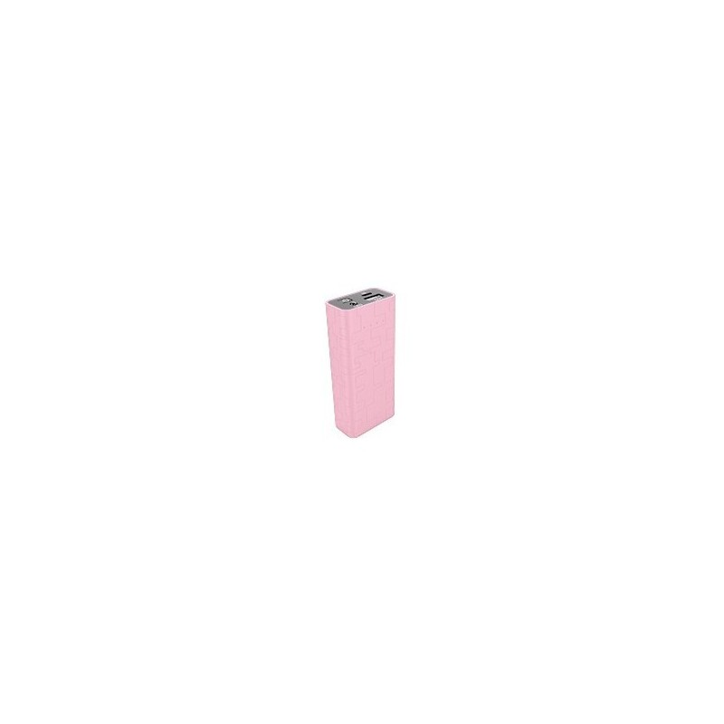 Power Bank Eurotech 5200MAH Rosa