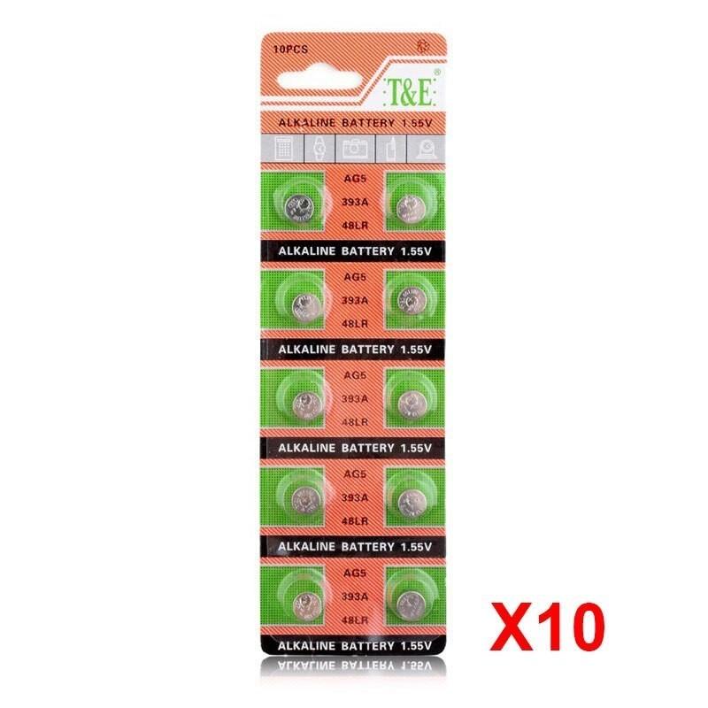 Pilha Alcalina Goeik para relógio - LR927W 48LR - 1,55V - pack de 10