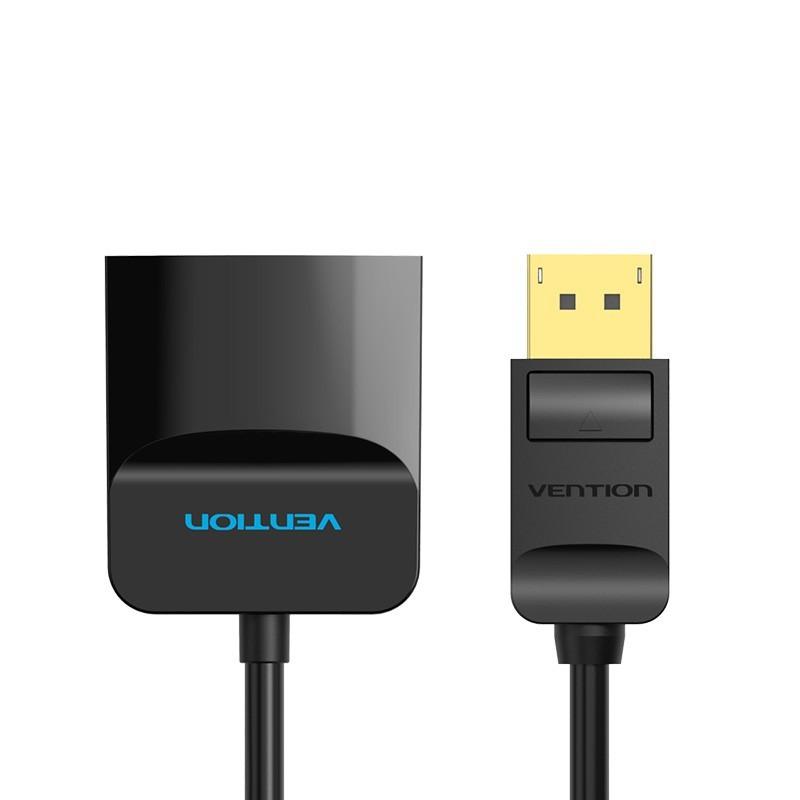 Cabo Adaptador Conversor DisplayPort para HDMI de 0,15 metros - Preto - Vention