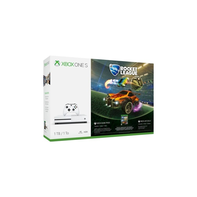 Microsoft Xbox One S 1TB-M1681 + Rocket League