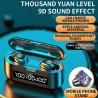 Fones Goeik de ouvido TWS 9D earbuds - Bluetooth 5.0 sem fio - mini par invisível - carregamento de telemóvel