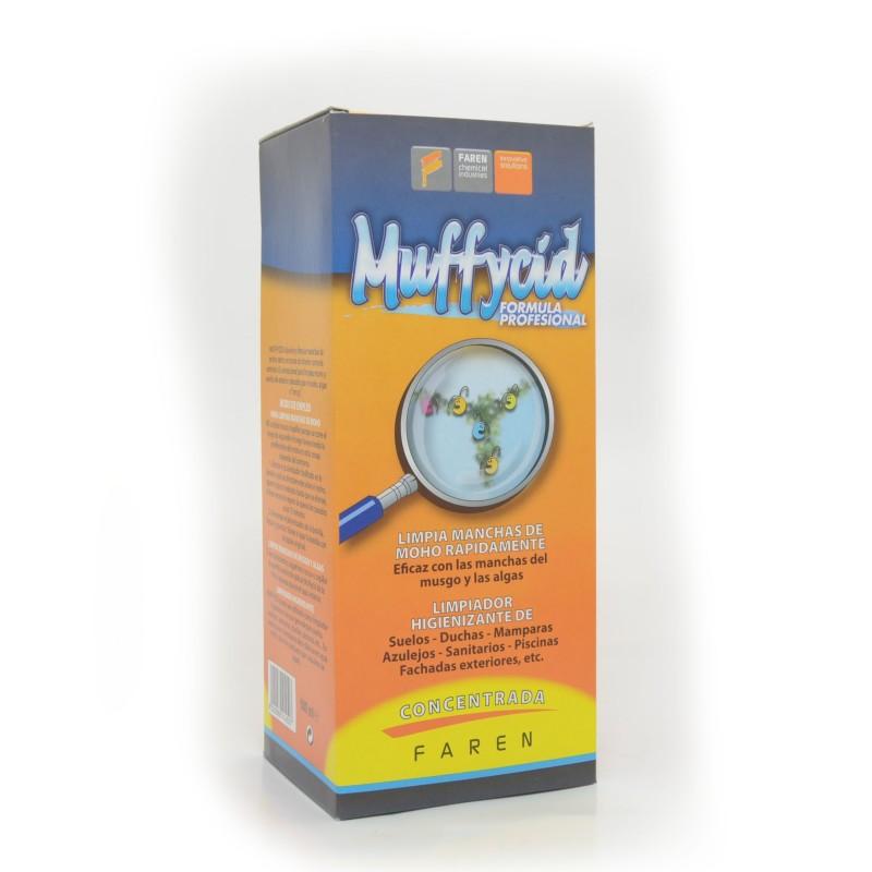 Muffycid - Adeus Bolor, humidade, Fungos, musgos, algas - Sem esfregar