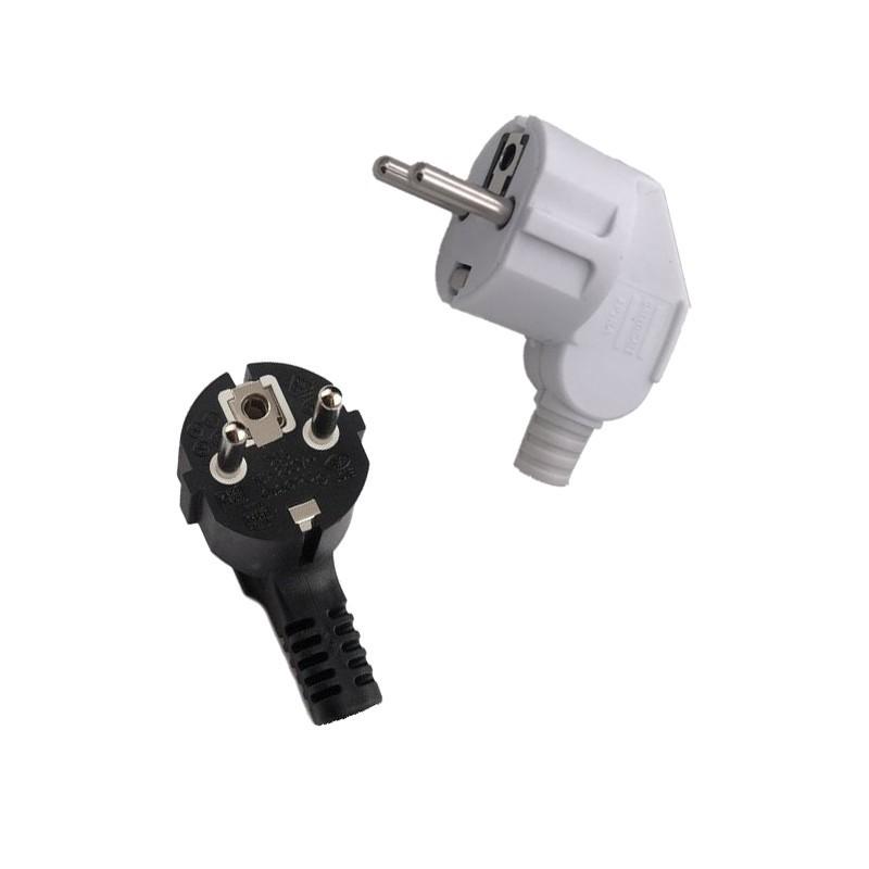 Ficha Terminal Plug In Shucko 90 graus - Goeik