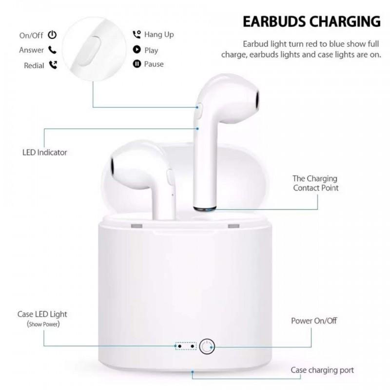 I7 TWS - Semelhante aos Apple headfones - Qualidade Premium
