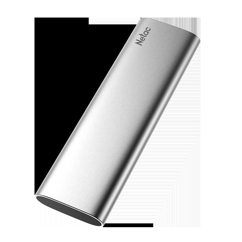 Disco SSD Externo Z SLIM Tipo-C, USB 3.2 Gen 2 Netac, de 128 e 250GB