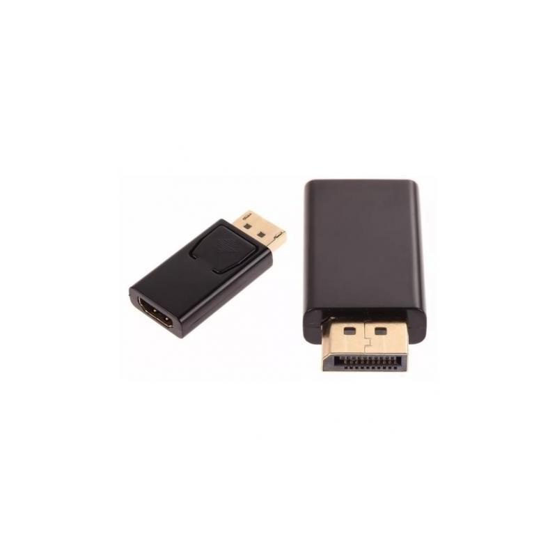 Adaptador DisplayPort para HDMI - Preto - Goeik