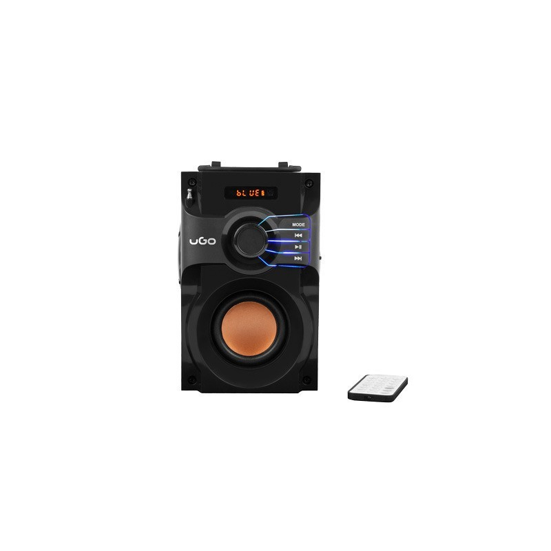 Coluna de Som Wireless Soundcube - Preto - uGo
