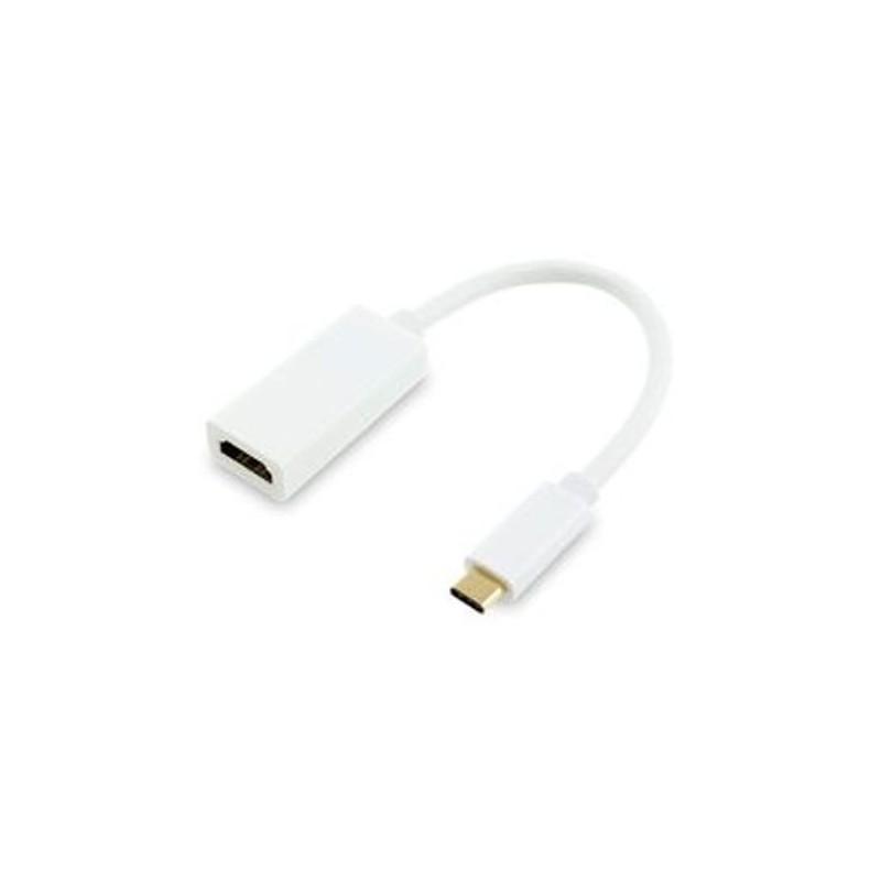 Cabo adaptador tipo C to HDMI - Branco - Fino