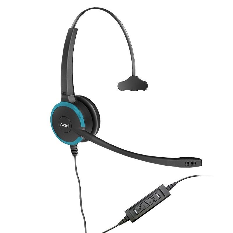 Headset Prime MS HD Mono NC Personalizado com Conexão USB - Axtel