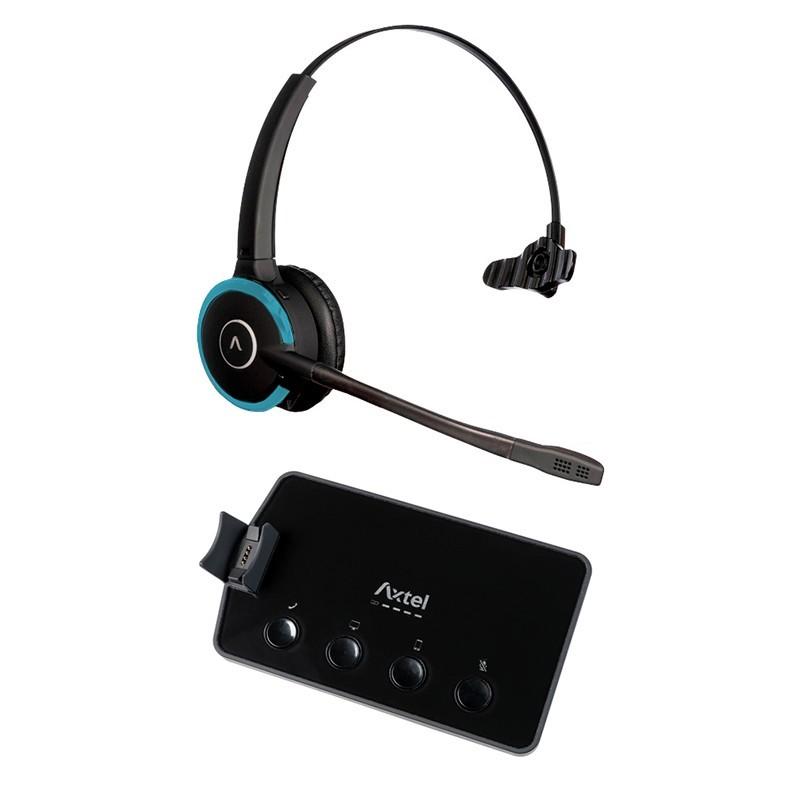Headset Prime X3 Mono Personalizado para Telefone Fixo com Conexão Wireless, USB e Bluetooth - Axtel