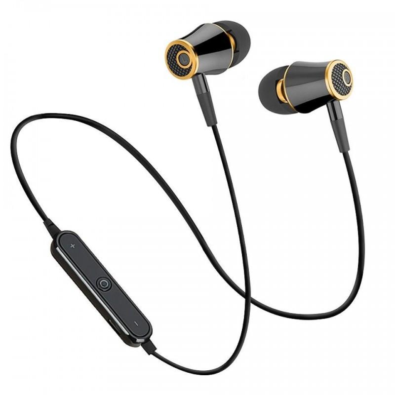 Fones de ouvido Bluetooth - sem Fio - Premium - BlackG