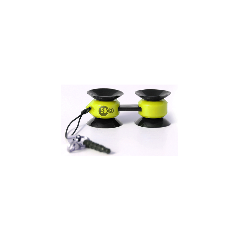 Suporte Telemóvel Miniventosas sticko - Amarelo